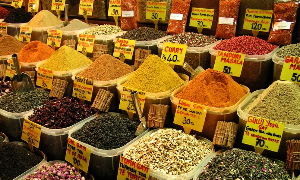 THE SPICE MARKET OF THE GRAND BAZAAR