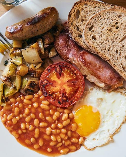 English Breakfast in Dalston